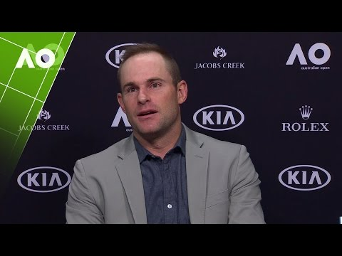 Andy Roddick press conference  International Tennis Hall of Fame   Australian Open 2017