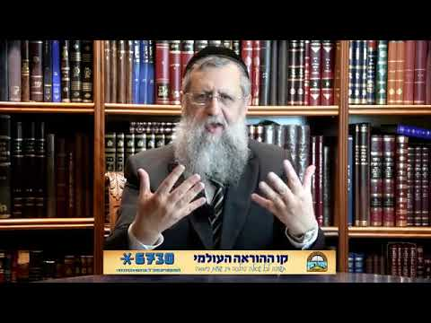"""Rabbi David Yossef with a message for Parshat Naso: """"Blessings of HaShem"""""""
