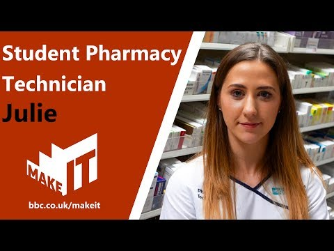 Health And Social Care Job Profile: Student Pharmacy Technician
