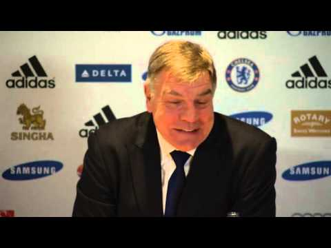 West Ham's Sam Allardyce to Chelsea manager: 'hard luck, José' - video