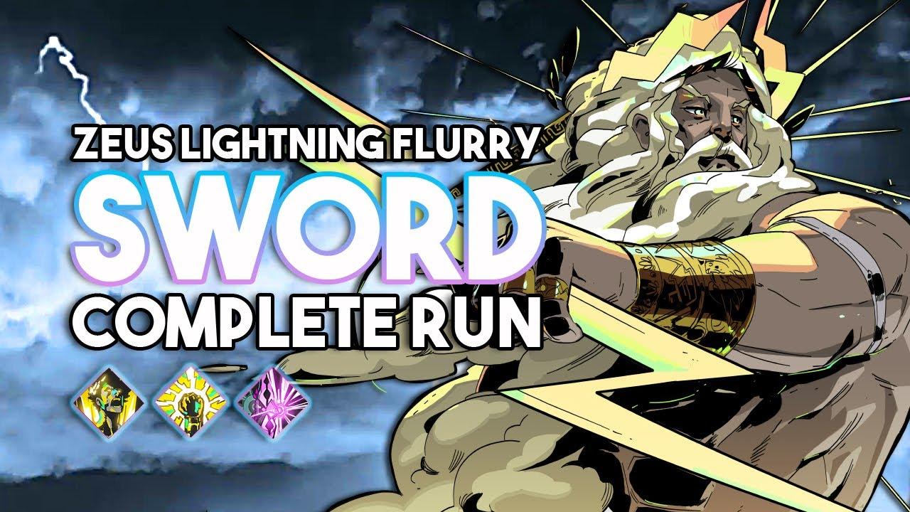 Download Hades   Zeus LEGENDARY Sword Full Run! Lightning Strike, Splitting Bolt, & Flurry Blade Build