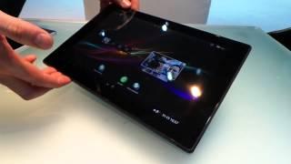 Sony Xperia® Z Tablet, 1.ª toma de contacto en vídeo