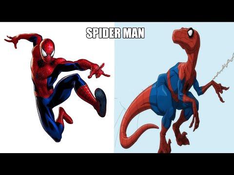 Super-heróis como dinossauros