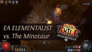 Path Of Exile 2.4: Grand Spectrum EA Elementalist - The Minotaur