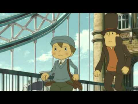 [Official Movie Trailer] Professor Layton and the Eternal Diva