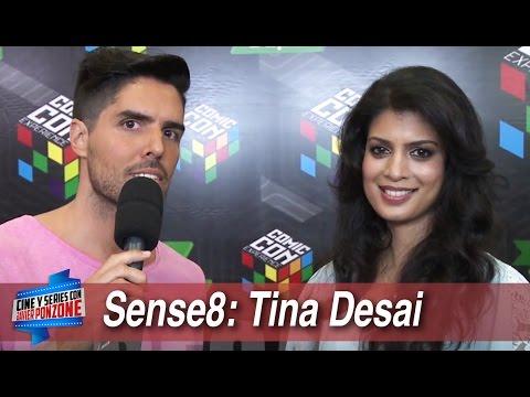 Sense8: Tina Desai con Javi Ponzone