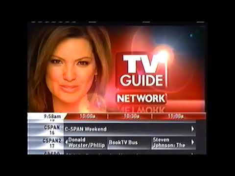 Tv guide network 02-07-2009 youtube.