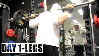DAY 1- LEGS || ABSOLUTE MUSCLE 12 WEEK PROGRAM BY JEET SELAL [HINDI]