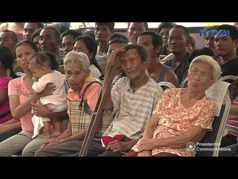 Ceremonial Distribution of Relief Good in Pili, Camarines Sur 12/27/2016
