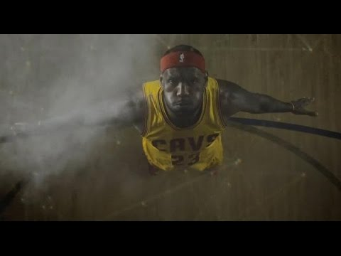 """Cleveland Cavaliers / LeBron James player introductons season opener """"No place like home"""""""