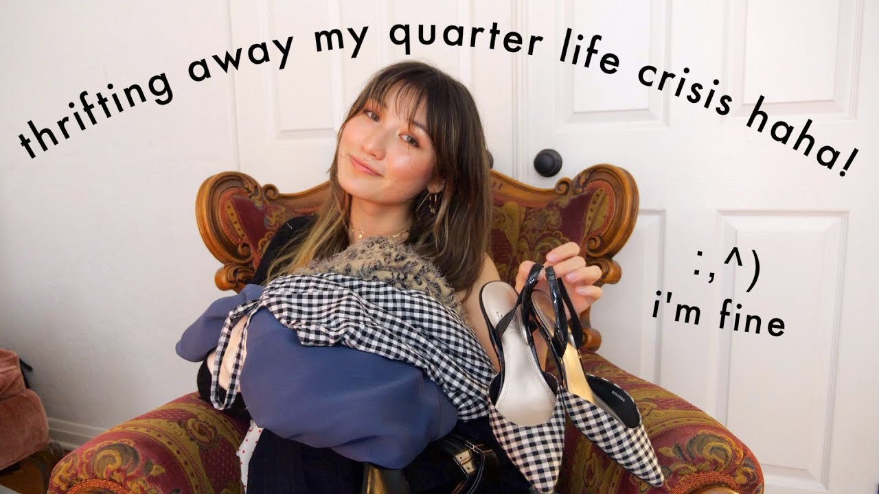 thrift haul ft. existential crisis