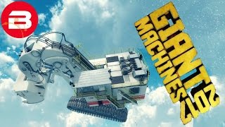 Let's Play GIANT MACHINES 2017 - HIGH FLYING T-REX!!! (GIANT MACHINES GAMEPLAY)