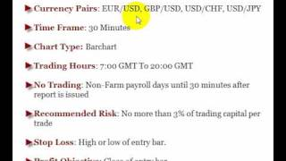 Forex Trading - SlingShot 30M 100% Mechanical Scalping Forex System Part 1