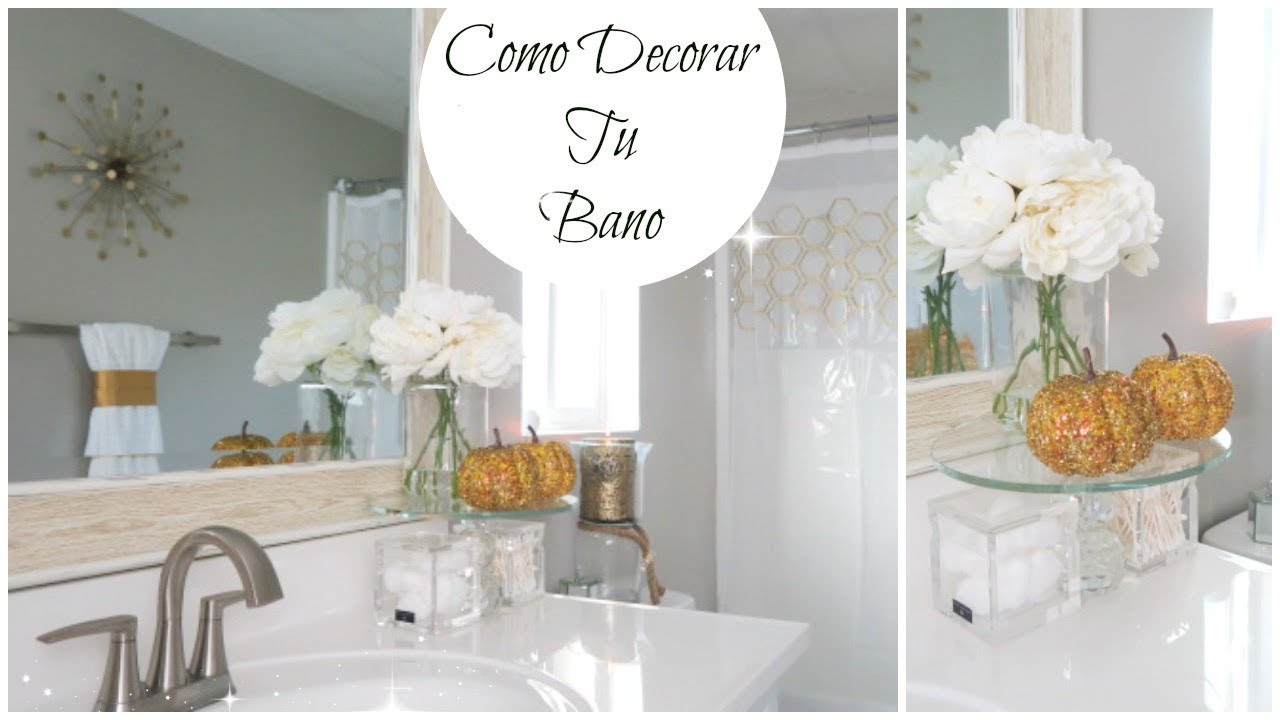 Como Decorar Tu Ba O Con Poco Dinero Ideas Para Decorar
