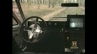 History Channel 1998 : Driverless Car Technology Overview at Carnegie Mellon University