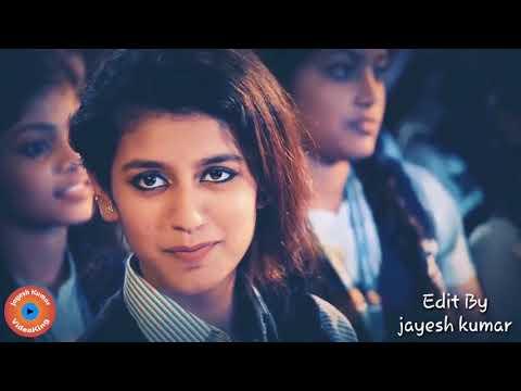 New || Priya Prakash  Varrier || { Aankhe Jab Bhi kholega Tu Payega Mujhe } || whatsapp status video