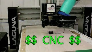 Как Заработать на ЧПУ/Laguna IQ CNC/Учебник Aspire | Как Заработать на Автомате