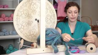 How to Spin Yarn for Socks : Fiber Arts 101