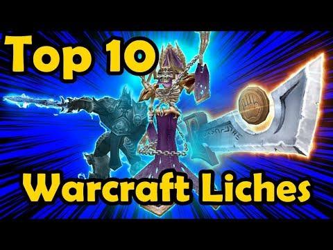 Top 10 Warcraft Liches