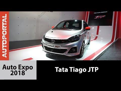 Tata Tiago JTP at Auto Expo 2018 - Autoportal