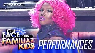 Your Face Sounds Familiar Kids Finale: Awra Briguela as Nicki Minaj - Superbass