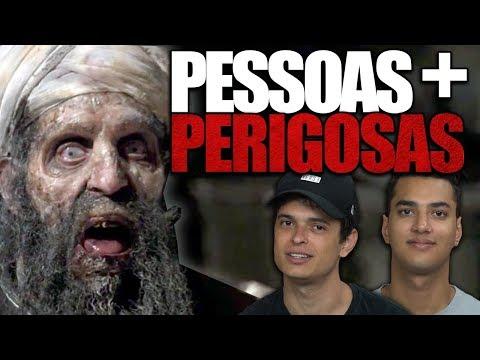 10 PESSOAS MAIS PERIGOSAS DO MUNDO !!
