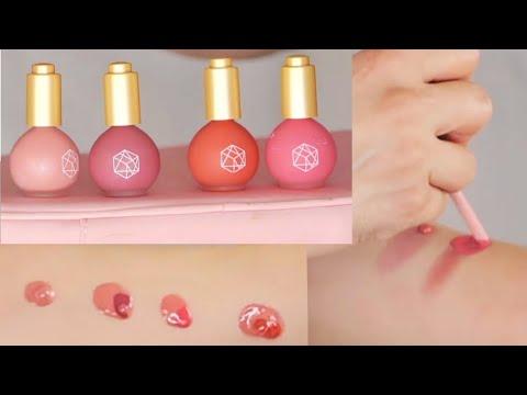 EM COSMETICS color drops serum blush mixing combinations