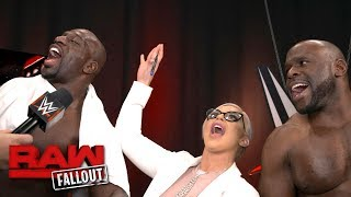 Titus Worldwide continues to win in 2018: Raw Fallout, Jan. 15, 2018