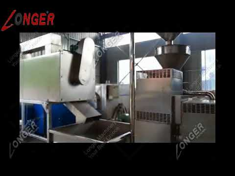 Complete Tahini Making Machine|Sesame Butter Manufacturing Process