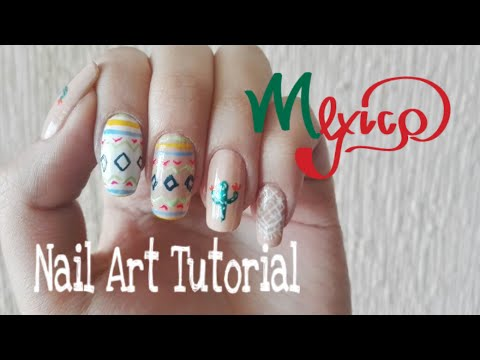 Mexican Nail Art Youtube