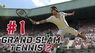 Grand Slam Tennis 2 Career Mode Walkthrough / Gameplay Part 1 (Year 2)