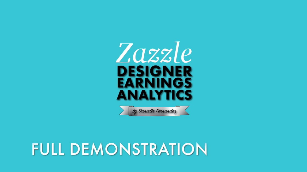 How to Use Zazzle Designer Earnings Analytics