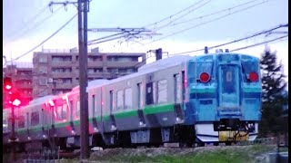JR北海道733系12両甲種輸送 EF510-1+733系12両 甲8561レ