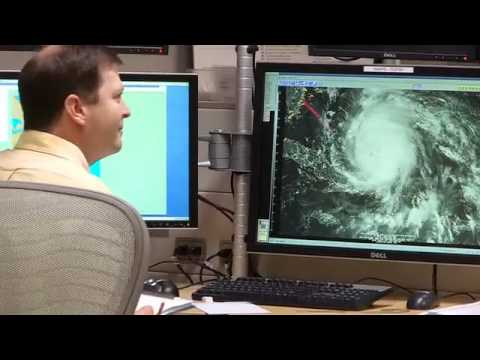Behind the scenes at the national hurricane center