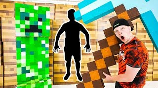 ULTIMATE Minecraft Prop Hunt IRL Challenge!