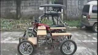 The HOY! Pinoy Mini Car Side by Side Size Comparison with Tricycle 1 of 3