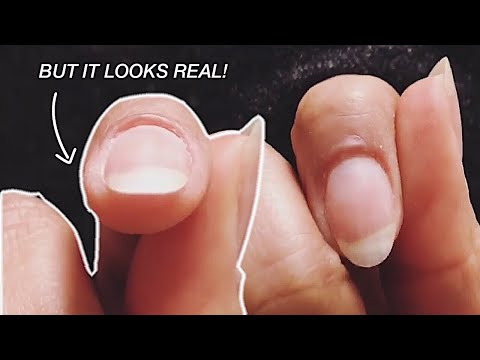 WHAT EXTENSION?? THE EASIEST NATURAL NAIL EXTENSION EVER