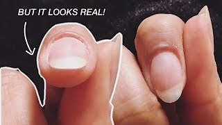 WHAT EXTENSION?!?! THE EASIEST NATURAL NAIL EXTENSION EVER