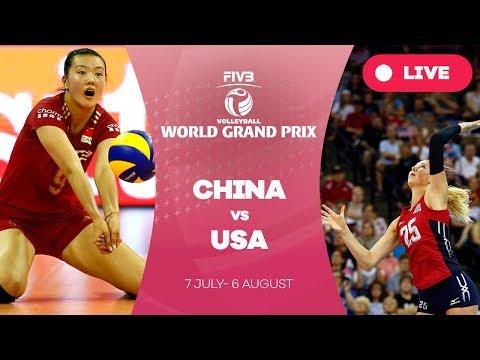 China v USA - Group 1: 2017 FIVB Volleyball World Grand Prix
