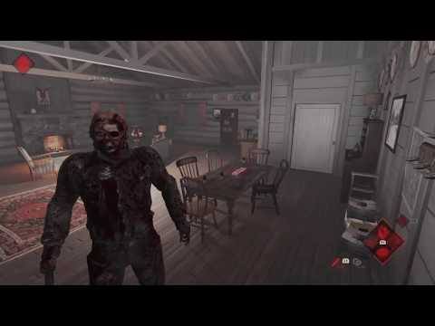 Friday the 13th the Game -- Part 9 (Bloody Skin) -- Troll Lobby