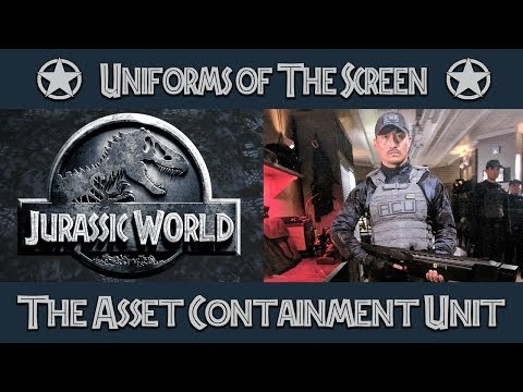 Uniforms of The Screen: Jurassic World Asset Containment Unit | Uniform History