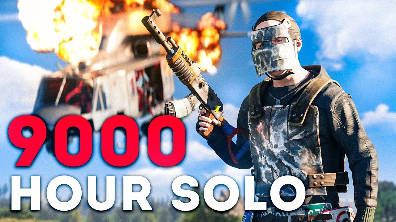 THE SOLO WITH 9000 HOURS IN RUST