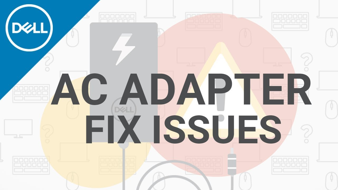 how to fix ac adapter for laptop official dell tech support  [ 1280 x 720 Pixel ]