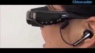 Portable Video Glasses - 4GB, AV function, is not google glasses