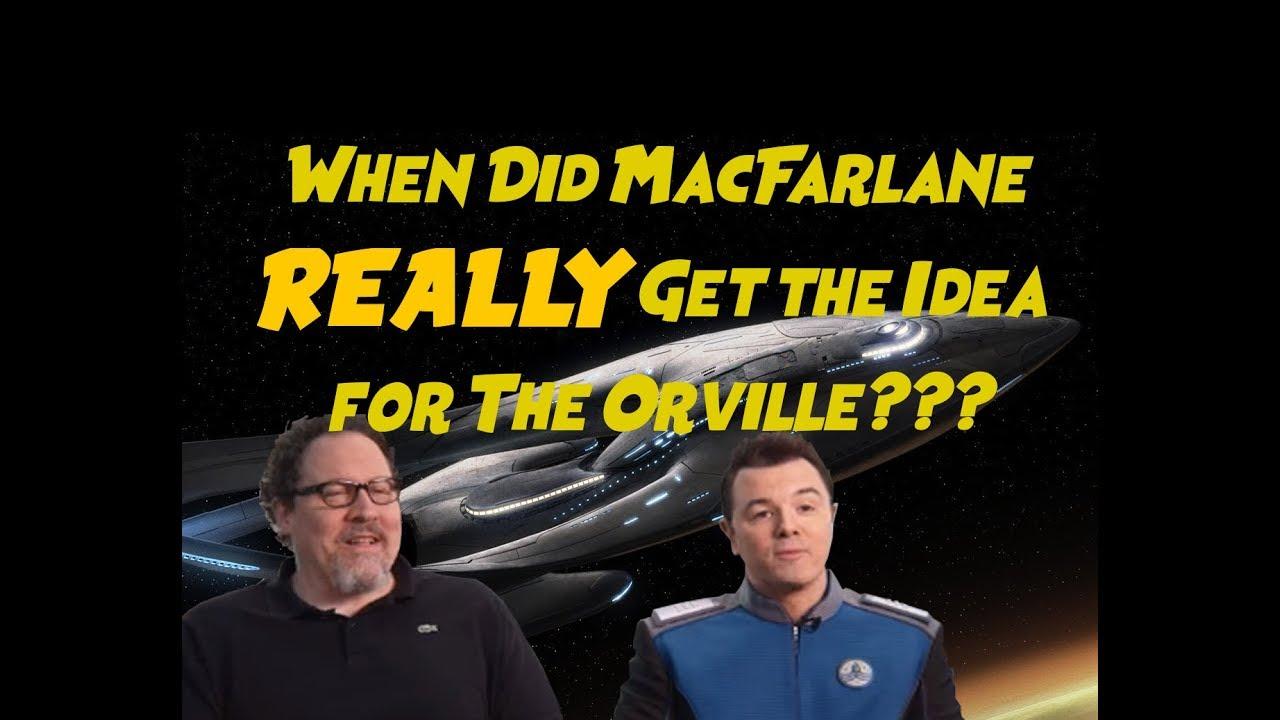 Download Origins of The Orville? Seth MacFarlane and Jon Favreau Geeking Out in 2005