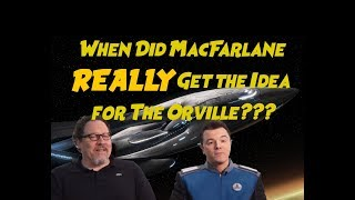 Origins of The Orville? Seth MacFarlane and Jon Favreau Geeking Out in 2005