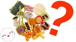 Dulces y snacks japoneses: Cortando, abriendo, probando y valorando