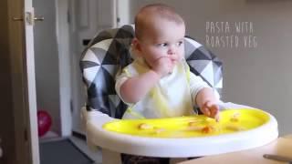 120 ngày bé ăn dặm theo phương pháp ăn dặm bé chỉ huy - Baby led weaning