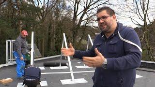 Natuurhulpcentrum - Installatie zonneboiler