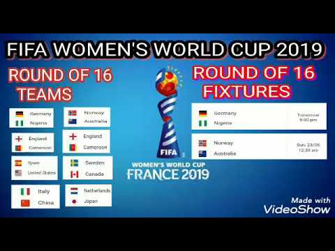 Pick the world cup schedule 2019 group for womens